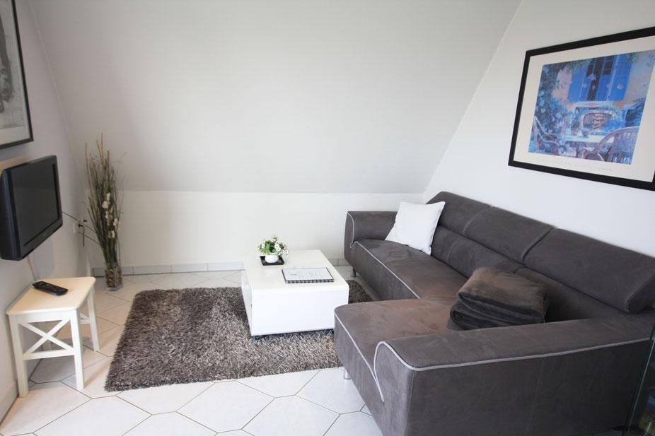 Haus Robbenplate in Duhnen Ferienwohnung 6 mit Panorama